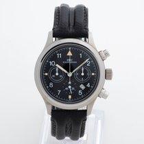 IWC Pilot Chronograph Steel 36mm Black Arabic numerals United Kingdom, Kent