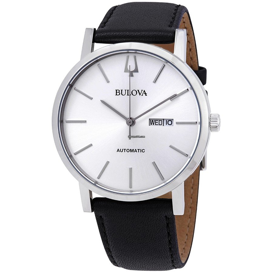 Men's Classic Bulova Automatic Watch 96c130 v80wNnm