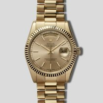 Rolex 118238 Yellow gold 2004 Day-Date 36 36mm pre-owned