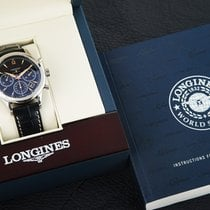 Longines Column-Wheel Chronograph new 2016 Automatic Chronograph Watch with original box and original papers L2.750.4.56.0
