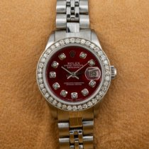 Rolex Lady-Datejust Steel 26mm Red No numerals United States of America, New York, NewYork