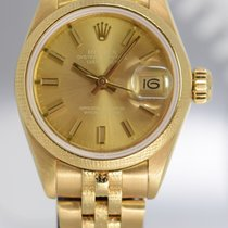 Rolex Lady-Datejust Or jaune 26mm Champagne Sans chiffres France, Cannes