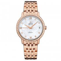 Omega De Ville Prestige Rose gold 32.7mm Mother of pearl United States of America, Florida, Miami