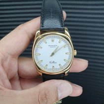 Rolex Cellini Danaos Yellow gold White