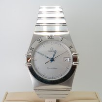 Omega Constellation Day-Date Steel 36mm Silver Roman numerals