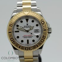 Rolex Yacht-Master 40 Acero y oro 40mm Blanco Sin cifras España, Granollers, colomboswatches.com