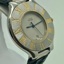 Cartier 21 Must de Cartier Gold/Steel 35mm Silver Roman numerals United States of America, Florida, Miami