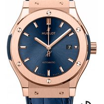 Hublot Red gold Automatic Blue 42mm new Classic Fusion Blue
