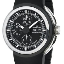 Fortis Chronograph 43mm Automatic 2012 new Black