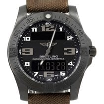 Breitling Aerospace Evo Night Mission Titanium Watch E56062...