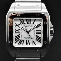 Cartier Santos 100 XL Box and Papers