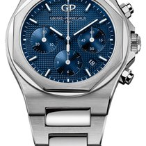 Girard Perregaux Laureato Steel 42mm Blue United States of America, New York, Airmont