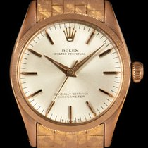 Rolex Oyster Perpetual 31 Red gold 31mm Silver