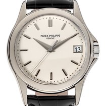 Patek Philippe Calatrava 5127 18k White Gold Mens Watch