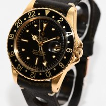 ロレックス 1675 イエローゴールド GMT マスター 40mm