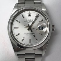 Rolex Oyster Perpetual Date Automatik Edelstahl Herren/Unisex