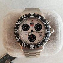 TAG Heuer Formula 1 Chronograph NOS White Dial CA1212