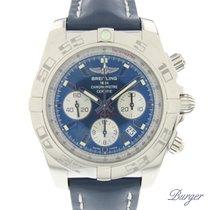Breitling Chronomat 44 Stahl 44mm Blau