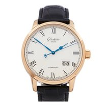 Glashütte Original Rose gold 40mm Automatic 100-03-32-45-04 pre-owned United Kingdom, Bishop's Stortford