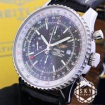 Breitling Navitimer World Stål 46mm Svart