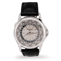 Patek Philippe World Time usados 39.5mm Oro blanco