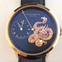 Arnold & Son Or rose 44.6mm Remontage automatique Arnold & Son Dragon nouveau