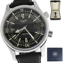 Longines pre-owned Automatic 42mm Black Sapphire Glass
