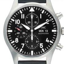 IWC Fliegeruhr Chronograph Stahl 43mm Schwarz Arabisch Deutschland, Stuttgart