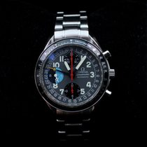 Omega Speedmaster Day Date Steel 39mm Black Arabic numerals