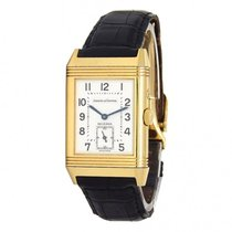 Jaeger-LeCoultre Reverso Duoface pre-owned 36mm Silver Leather