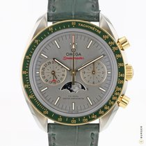 Omega Speedmaster Professional Moonwatch Moonphase Acero y oro 44.2mm Plata