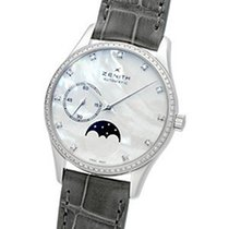 Zenith Elite Ultra Thin Steel 33mm Mother of pearl