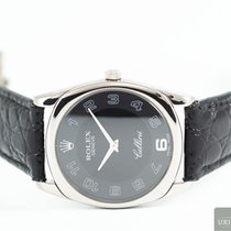 Rolex Cellini Steel 33,00mm Black Arabic numerals