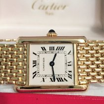 Cartier usato Manuale 20 x 27mm Non impermeabile