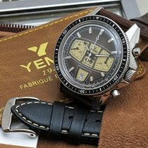 Yes Watch Acero 40mm Automático yema heuer autavia carrera usados