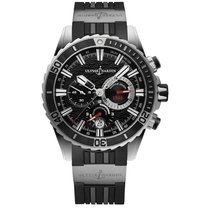 Ulysse Nardin Diver Chronograph Steel 44mm Black United States of America, Florida, Miami
