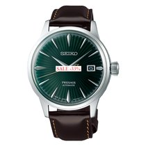 Seiko Presage Сталь 40.5mm Зелёный Без цифр