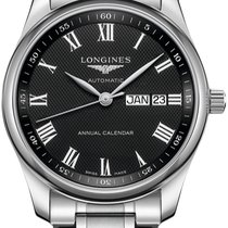 Longines Master Collection Steel 40mm Black United States of America, New York, Airmont