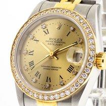 Rolex Lady-Datejust Acero y oro 31mm Champán Romanos
