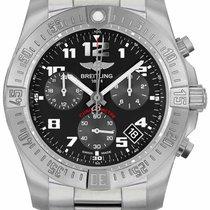 Breitling Chronospace neu Quarz Chronograph Uhr mit Original-Box EB601010-BF49-152E