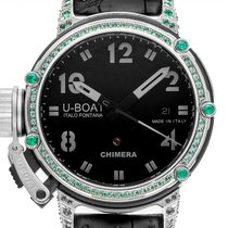 U-Boat Steel Automatic Black Arabic numerals 43mm new Chimera