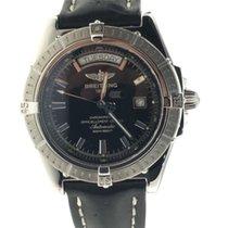 Breitling Headwind Steel 43mm Black No numerals United States of America, New York, Greenvale