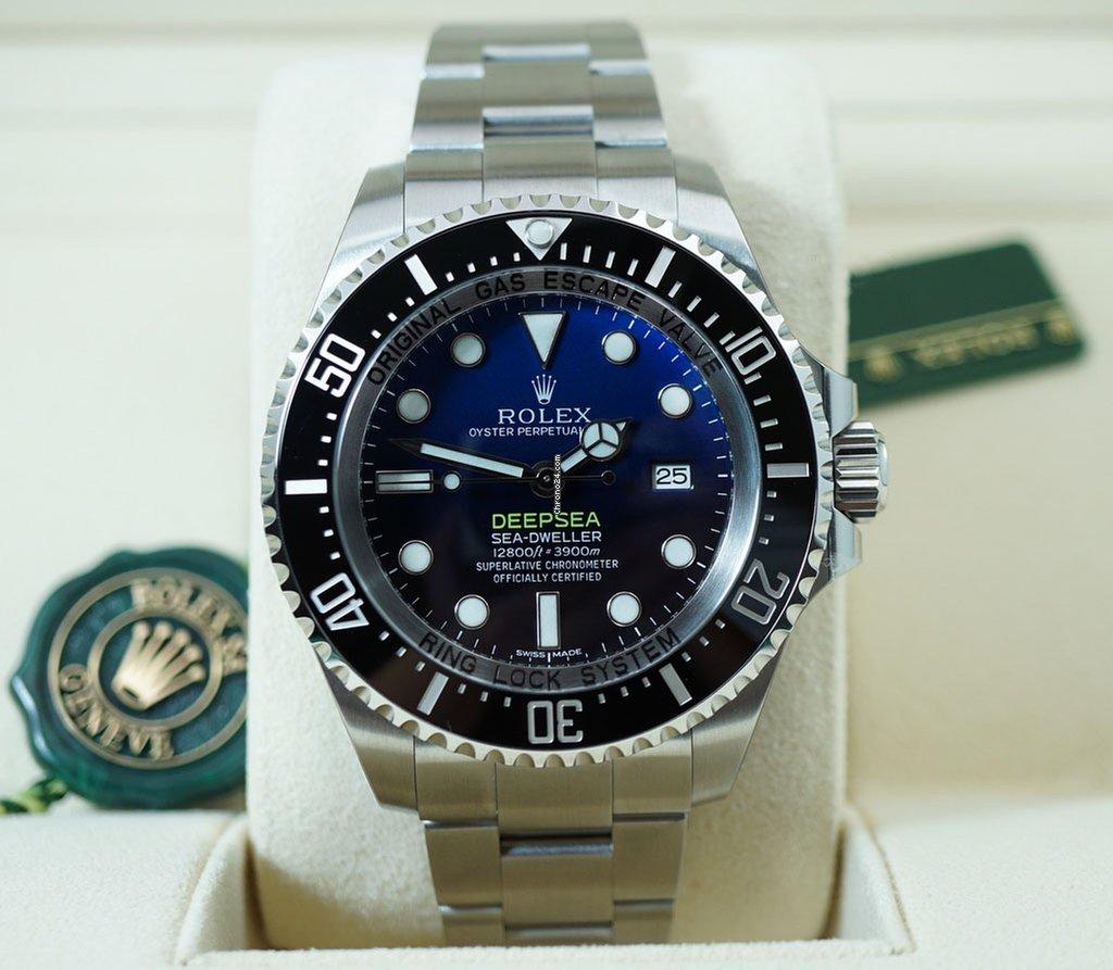 c6dc2435101 Rolex 116660 dbl Sea-Dweller DEEP SEA Blue for  15