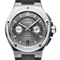 Eterna Royal Kontiki Steel 42.5mm Grey No numerals