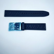 Breitling Rubber 18/17mm Blue