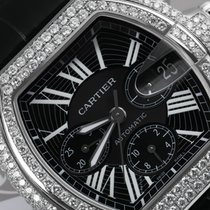 Cartier Chronograph Automatic pre-owned Roadster Black