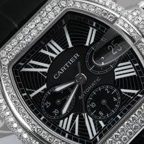 Cartier Kronograf Automatisk brukt Roadster Svart