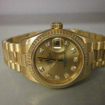 Rolex President Datejust 179178 18k 26mm Ladies Dress Watch....