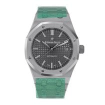 Audemars Piguet Royal Oak Selfwinding Steel 37mm Grey No numerals United States of America, New York, New York