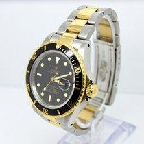 Rolex Submariner 16803/16613 Black Kit 18K Gold and Steel
